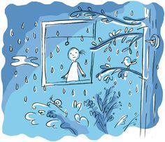 it's raining...  by Laura Klamburg
