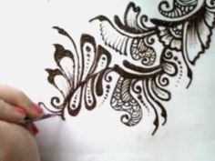 Hey here is my attempt on trying to do a mehndi pattern on paper hope you like it :) please leave comment on how I can improve thanks for watching! :) karishmax1 x