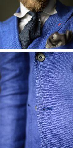Kacket - ISAIA Napoli, Shirt - Suitsupply, Tie - Viola Milano, Pocket square - AD56 Milano