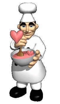 107 best animated chefs and waiters images on pinterest funny gifs rh pinterest com Chef Hat Drawing Chef Cartoon Character Designs
