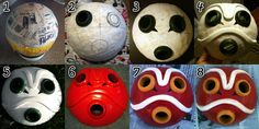 San's Mask-- Step by Step/Tutorial by Renna-Mira on DeviantArt Sans Cosplay, Cosplay Diy, Princess Mononoke Cosplay, Miyazaki, Paper Mache Mask, Game Costumes, Costume Ideas, Diy Mask, Mask Design