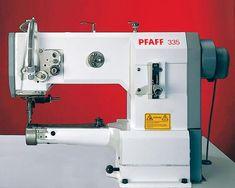 PFAFF-335-цилиндровый кроватей швейная машина