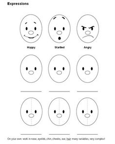 facial expressions for preschooler time out Teaching to learn