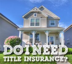 What Is Title Insurance And Do I Need It? http://www.biblemoneymatters.com/what-is-title-insurance-and-do-i-need-it/