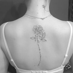 A rose from her very own garden • #tattrx #inkstinctsubmission