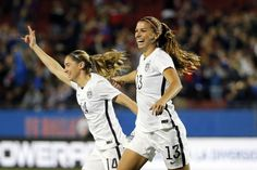 A hat-trick for Alex Morgan seals #USWNT passage to #Rio2016.