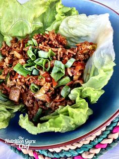 Simple and delicious San Choy Bow recipe Asian recipe healthy food nutrition