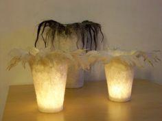 Felted Tealight Glasses by Werkstatt19