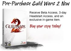 Guild Wars 2: beta testing has been awesome. 28th of August, 2012 release date