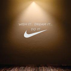 Nike swoosh logo wall decor