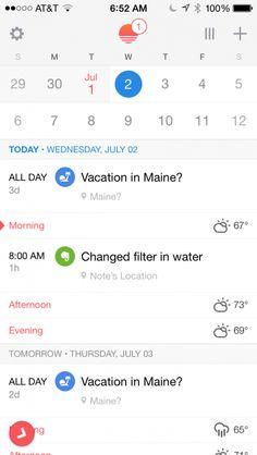 Quick Tip: See Evernote Reminders in a Calendar with the Sunrise App Sunrise App, Calendar App, Paperless Post, Home Management Binder, Evernote, Cool Websites, Social Media Tips, Mobile Design