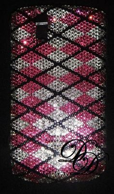 Bling Cell Phone Covers : Swarovski Crystal iphone Cell Phone Covers