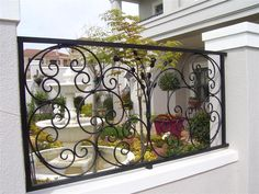 Gates, Fence, Stairs, Steel, Beautiful, Classic, Home Decor, Garden, Home
