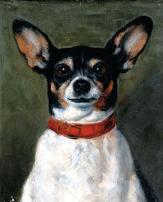 Jacqueline Bowes (attr.) Portrait of a Dog, *