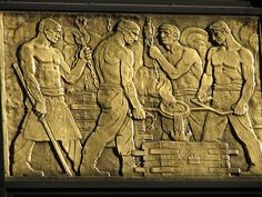 75 Federal St Art Deco Relief  Downtown Boston, MA    Photo by 'almk' on Flickr.