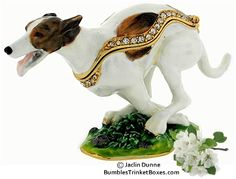 I actually REALLY need this. $38, from www.bumblestrinketboxes.com  Trinket Box: Greyhound Running