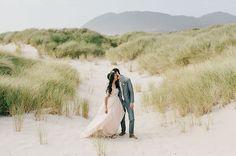 Bright, Bohemian Oregon Coast Wedding: Ellie + Cassady | Green Wedding Shoes Wedding Blog | Wedding Trends for Stylish + Creative Brides