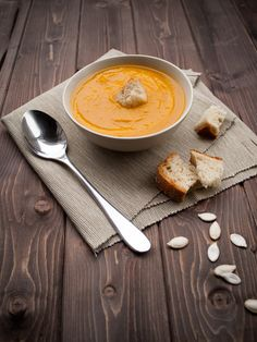 Soupe orange : Recette de Soupe orange - Marmiton
