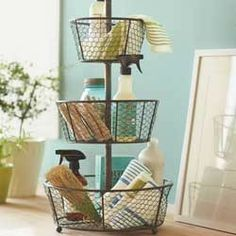 Love this for bathroom storage.  Vivaterra.