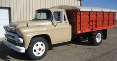 old grain trucks | 59 GMC Grain Truck