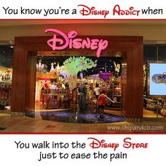 You know you're a Disney Addict when...