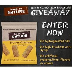Free Back To Nature Snack - http://freesamplesnatcher.com/free-back-to-nature-snack