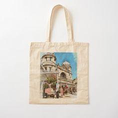 Cotton Tote Bags, Reusable Tote Bags, Photo Art, Opera House, Art Drawings, Artist, Stuff To Buy, Artists, Opera