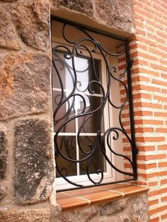 Decorative Windows Security Grill http://gateforless.com/product-category/security-bar/residential-windows/