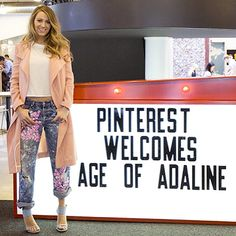 Blake Lively showed off her fab post-baby body style in a picture shared via Instagram during a visit to the Pinterest office on Tuesday, April 14. The new mom, 27, looked toned and fit nearly four months after giving birth to her daughter, James Reynolds.