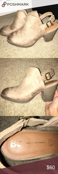 Born in California boots size ten Born in California brand boots size ten, worn once and in great condition. Shoes