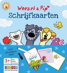Woezel en Pip Schrijfkaarten - Educatief Speelgoed