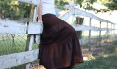 The Skirt Outlet. Large selection of long skirts, jean and otherwise.