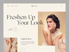 Weekly Design Inspiration #305 - Muzli - Design Inspiration Website Design Inspiration, Website Design Layout, Homepage Design, Email Design, Ui Design, Layout Design, Web Grid, Creative Web Design, Jewelry Website
