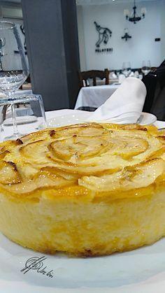 El bavarois de manzana y yogur griego