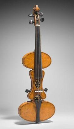 Practice Violin by Charles F. Albert • c1886 http://www.mfa.org/collections/object/practice-violin-541578 Confira aqui http://mundodemusicas.com/lojas-instrumentos/ as melhores lojas online de Instrumentos Musicais.