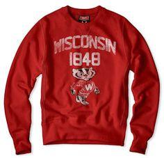 Wisconsin 1848 Sweatshirt