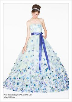 M / mika ninagawa ウェディングドレス