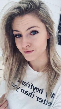 Finally blonde hair ! Blue eyes 👌 Love it!