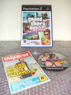 GRAND THEFT AUTO Vice City Stories - PS2 ps3 playstation - ITA - Prima Stampa