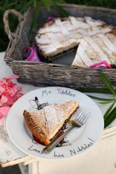 Áfonyás-csokis ricotta pite • Fördős Zé Magazin