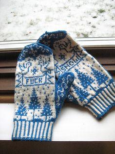 fuck snow mittens.
