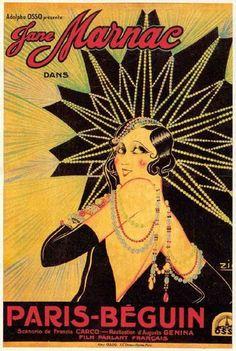 Paris Béguin est un film français réalisé par Augusto Genina, sorti en 1931. Jeanne Diamant, grande vedette du music-hall rentre chez elle, après avoir refusé d'interpréter un sketch. Elle y surprend Bob, un cambrioleur qui en veut à ses bijoux. Après avoir passé la nuit avec le beau voyou, elle s'aperçoit qu'elle est en train de vivre la scène qu'elle avait refusé de jouer.