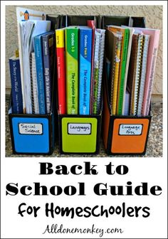 Get ready for the new school year with our Back to School guide for homeschoolers, with our favorite supplies to keep your homeschool organized and joyful! The New School, New School Year, Back To School, 3rd Grade Books, Online Music Lessons, Preschool At Home, Home Schooling, Elementary Teacher, Homeschool Curriculum