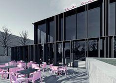 The Ochota`s Theater, warsaw. Tamizo Architects, Warsaw, Store Design, Cladding, Steel Frame, Contemporary, Modern, Facade, Architecture Design