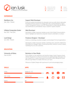 cool modern resume very clean easy to read resumes personal