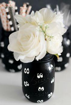 Halloween Mason Jar Craft Ideas