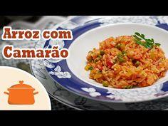 PANELATERAPIA - Blog de Culinária, Gastronomia e Receitas: Arroz com Camarão