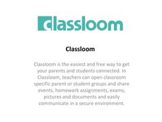 Visit to Classloom for finding best apps for parent-teacher communication. Benficial for career of students. If parents involve in study of their children, its good.