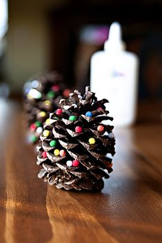 pine cones ornaments