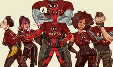 X-FORCE GROUP PHOTO!!!